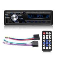 Auto radio 12 V/24 V voiture/camion Radio Bluetooth 1din voiture stéréo lecteur téléphone AUX ISO Interface MP3 FM/USB/Radio télécommande
