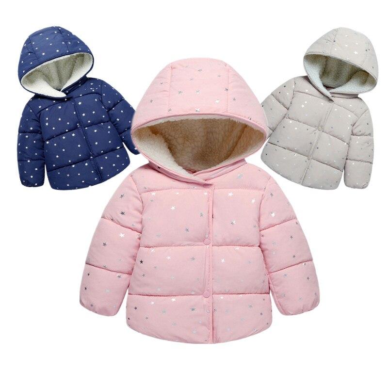 cb3299bc6 Prendas de Vestir exteriores para niñas ropa de bebé 2019 Otoño Invierno  moda encaje dobladillo niños