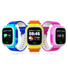 Q90 GPS WIFI Child Smart Watch Anti-lost Safety Cute Kid Watch SOS Call Location Reminder for iPhone Android(China)