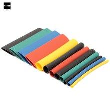 Новый 280 шт. 8 размеры multi Цвет 2:1 Термоусадочные трубки рукава Wrap Комплект RSFR-H термоусадочная трубка цвет желтый, синий; размеры 34–43 черные; зеленые; красные