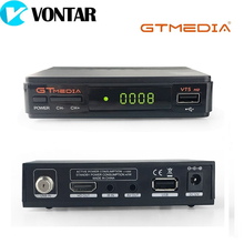 [Genuine] GTMEDIA V7S HD DVB-S2 HD Satellite TV Receiver Support PowerVu Biss Key Card Sharing Youtube Youporn Set Top Box
