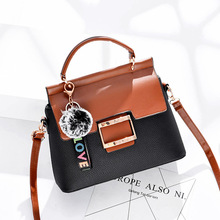 Female bag female han edition to finalize the design new zipper fashionable worn one shoulder