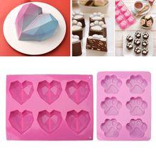 3D алмаз любовь сердце форма силиконовые формы эпоксидная смола для изготовления ювелирных изделий смолы формы ювелирные изделия инструменты