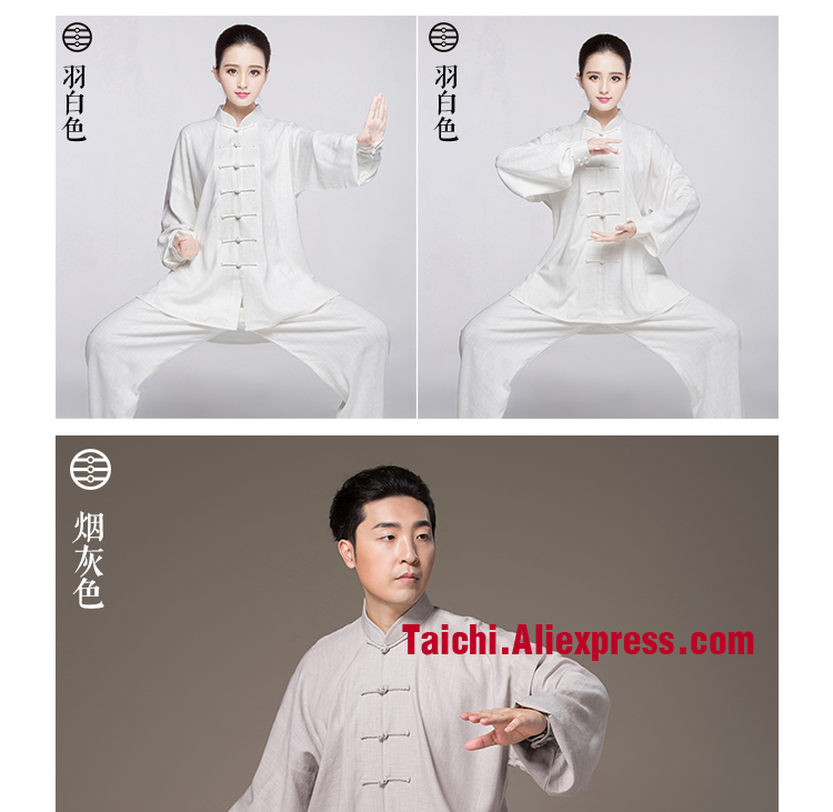 ᗗLino tai chi uniforme Taiji Boxeo rendimiento ropa artes marciales ...