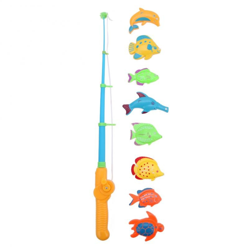Magnetic-1-Rod-8-Fish-Catch-Hook-Pull-Baby-Children-Bath-Fishing-Game-Set-Outdoor-Fun-Toys-BM88-5