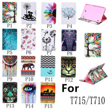 Leather Stand Tablet Case Cover For Samsung Galaxy Tab S2 8.0 T715 T710