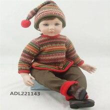 22 inch 55 cm  reborn  Silicone dolls, lifelike doll reborn babies toys Wool clothes doll