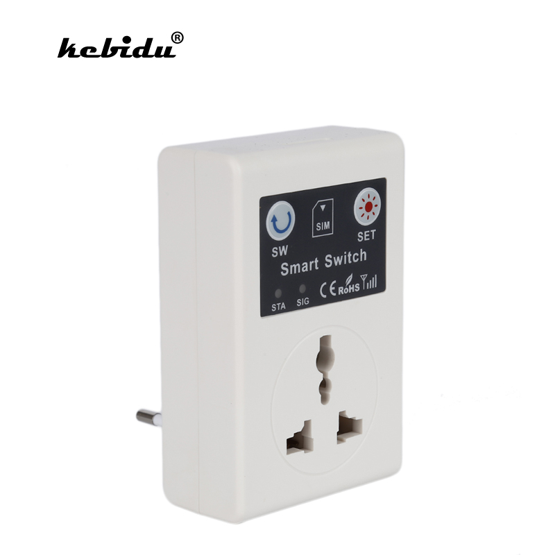 Back To Search Resultsconsumer Electronics Kebidu Eu/uk Plug Cellphone Phone Gsm Rc Remote Control Socket Power 220v 10a Wireless Smart Switch For Home Hospital Wholesale Relieving Rheumatism And Cold Accessories & Parts
