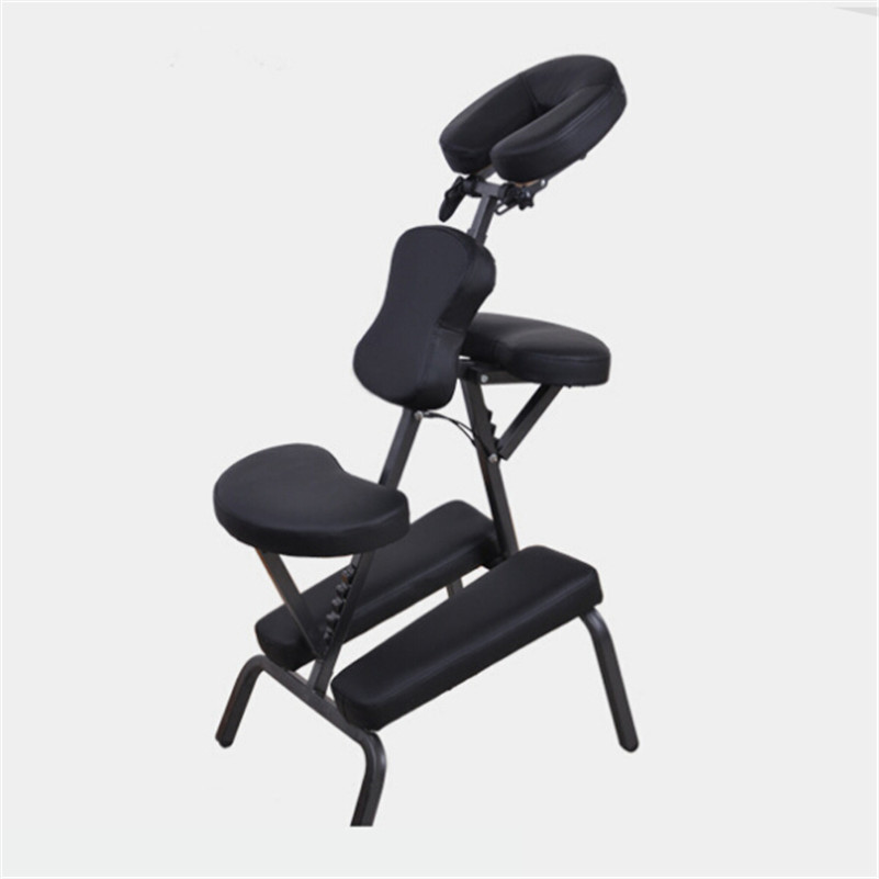ФОТО Tattoo Rest  1pcs Black Folding Multi-Function Tattoo Chair TATTOO Arm Leg Rest Fully Adjustable Studio Chair Massage Armchair