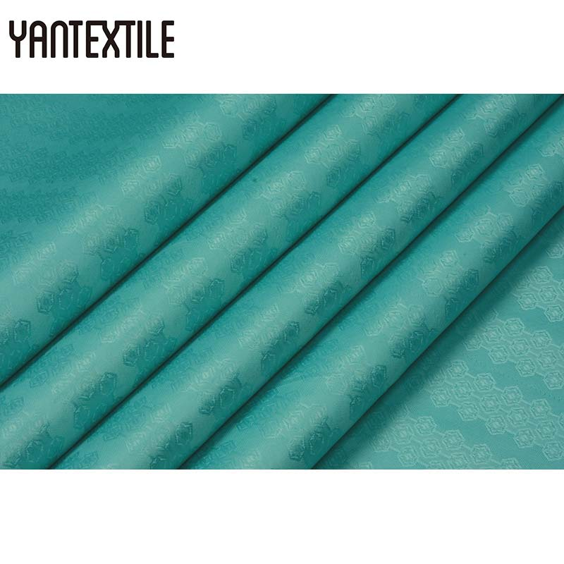 YANTEXTILE guinée brocart Bazin Riche tissu 10 Yards/sac africain hommes tissu doux nigéria africain imprimé tissu soie damassé Shadda
