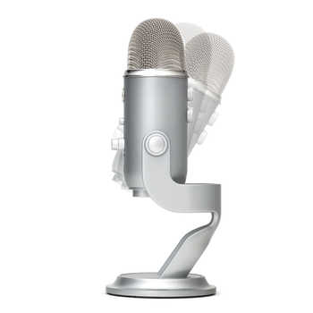 Blue Yeti USB condenser Microphone for live broadcasting and recording sound with inner sound card Plug and play