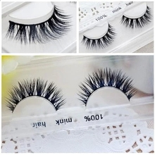 Free shipping mink strip eyelashes soft thick long 100% real mink eyelash siberian mink fur eyelashes
