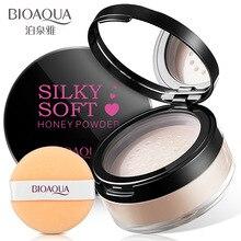 BIOAQUA матовая Рассыпчатая установка, пудра, контроль жирности, консилер для лица, пудра, полупрозрачная основа, Косметика для макияжа