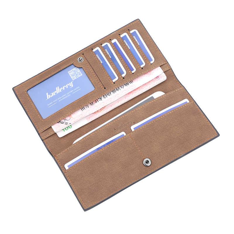 2019 высококачественный мужской кошелек, Холщовый дизайнерский длинный телефон, кошелек с отделением для карт, мужской кошелек для монет, сумка для денег, кошельки бумажники