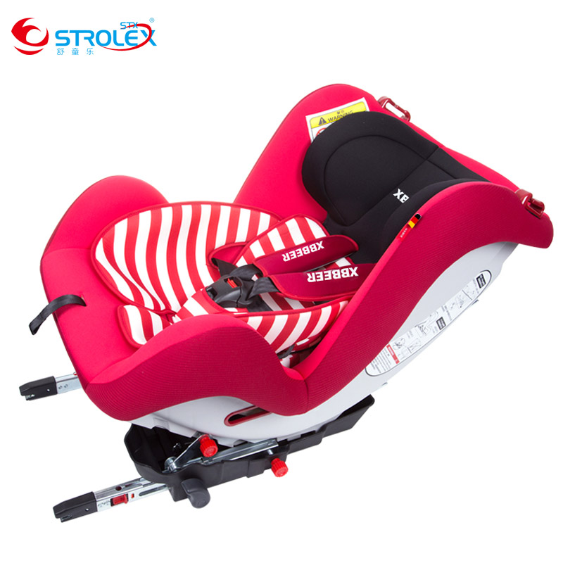 Isofix Five-point Harness Baby Children Car Safety Seat Convertible Installation Adjustable Kids Car Safety Chair Booster Seat factory direct sales multifunctional baby child car safety seat kids adjustable removable five point harness chair seat 9 m 12 y