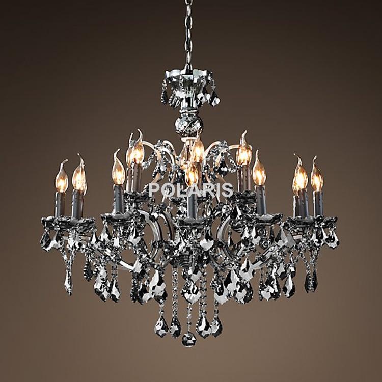Vintage incandescent cristal candelabru de iluminat Candelabru - Iluminatul interior - Fotografie 6