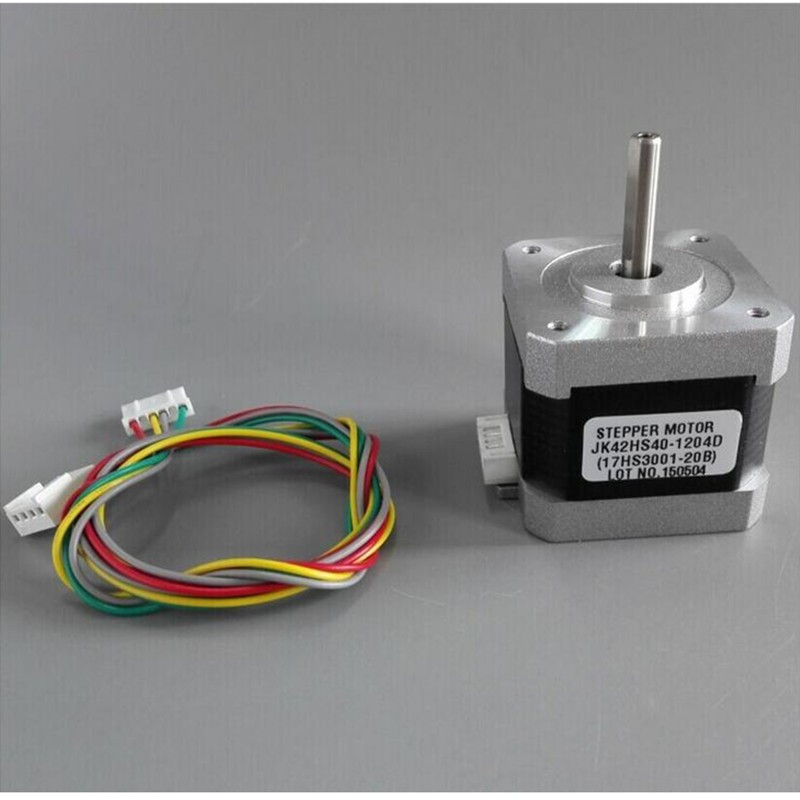 1.8 degree Nema17 stepper motor 1.2A 0.4N.m 40mm 42HS40-1204 Nema17 stappenmotor 4-lead for 3D printer