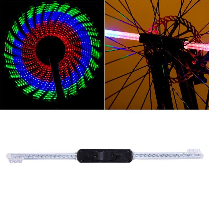 LED RGB Waterproof Bike Bicycle <font><b>Wheel</b></font> Spoke Light Cycling Night Riding Bike Tire Light <font><b>Wheel</b></font> <font><b>Lamp</b></font>