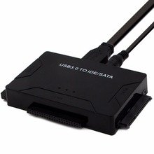 Универсальный USB 3.0 на SATA/IDE жесткий диск адаптер преобразователь с внешним три жесткие диски для Оконные рамы XP /7/8/10 ЕС США Plug