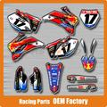 Personalizado Da Equipe de Gráficos & Fundos Decalques Adesivos YZF YZ250F YZ450F YZF250 YZF450 2006 2007 2008 2009 Motocicleta Motocross