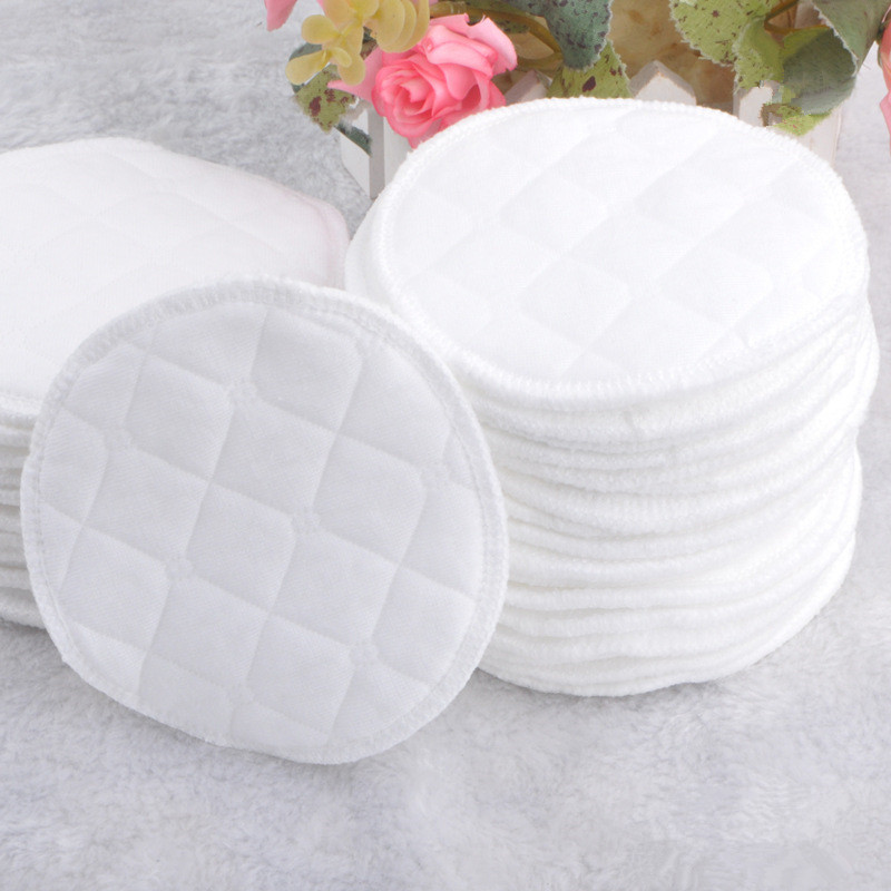 Breastfeeding Clothes Maternity Bra 4pcs/lot Double Cotton Breast Pads Washable Anti Yinai Pad Postpartum Supplies A-rud001-4