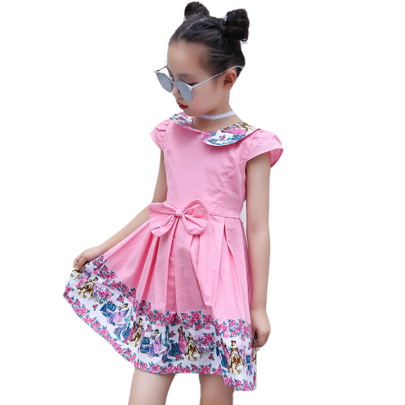 Baby Dresses For Girls Clothing Children Princess Party Dresses For Toddlers Summer Sundress 2 3 4 5 6 8 9 10 12 Years Vestidos summer 2017 new girl dress baby princess dresses flower girls dresses for party and wedding kids children clothing 4 6 8 10 year