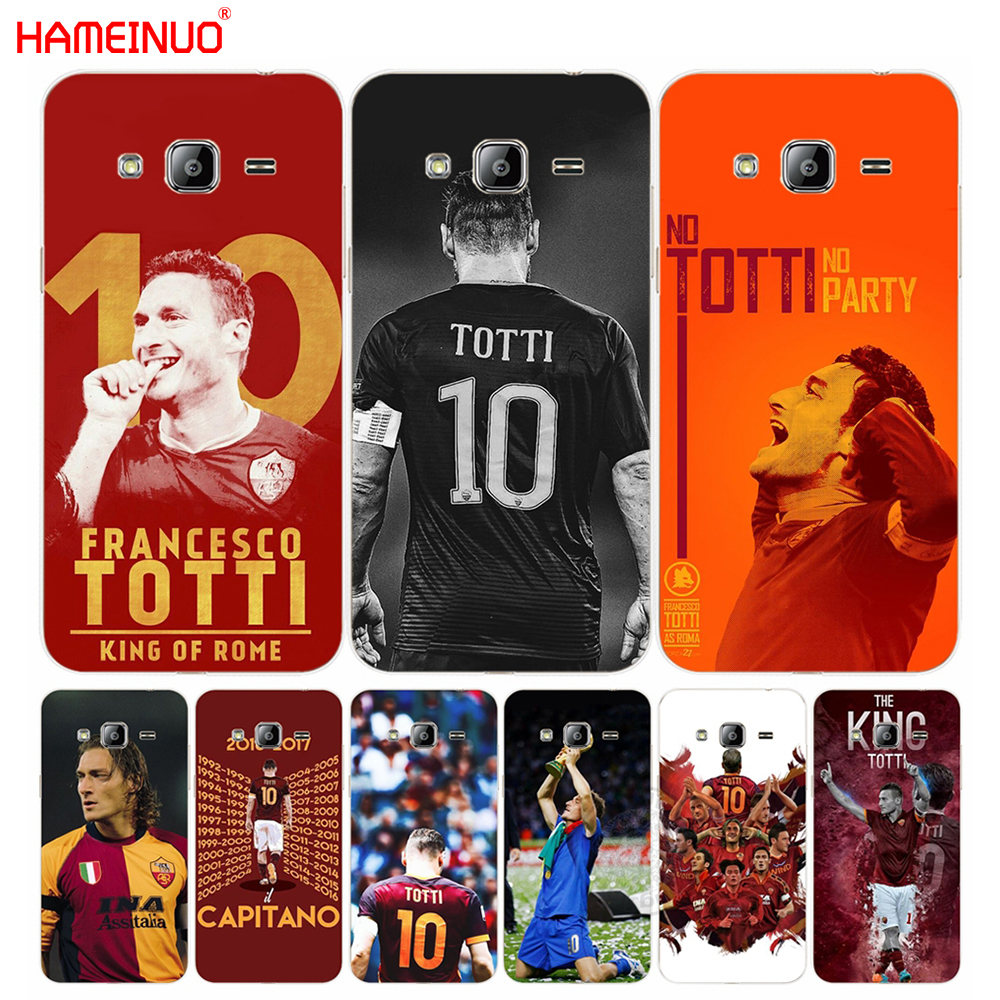 HAMEINUO Francesco Totti Football Star cover phone case for Samsung Galaxy J1 J2 J3 J5 J ...