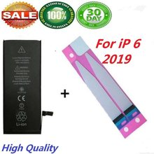 for iPhone 6 Battery Replacement Adhesive High Capacity Battery 100% New(China)