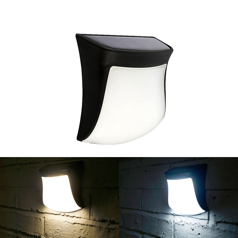 Solar Powered LED Wall Lights With PIR Motion Sensor Lamp Home Decor Garden Corridor Fence Waterproof Solar LED Light