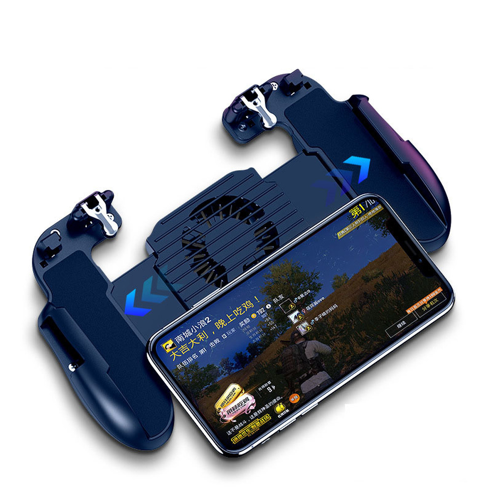 Image 5 - Hot Sale Game Controller Game Assistance Handle For PUBG Mobile2000mAh Emergency Charging Cooling 3 in 1-in Joysticks from Consumer Electronics