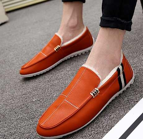 2018 Модные мужские зимние ботинки, большие размеры 35-46, удобные мужские повседневные ботинки, дышащие лоферы, обувь без шнуровки