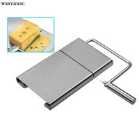 Cheese Cutting,Butter Cutter Slicer,Tofu Knife For Perfect Square Slices
