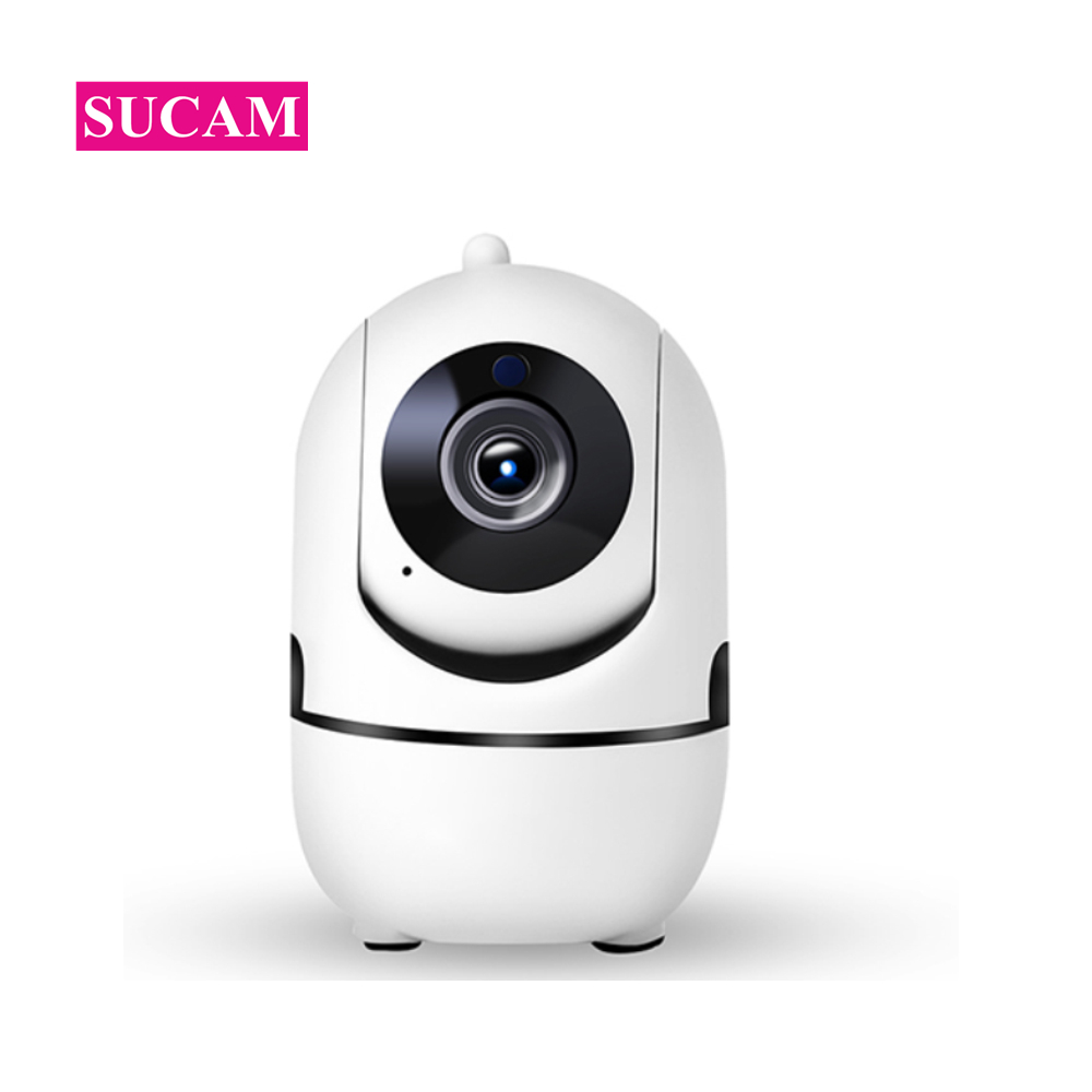 US $27 36 23% OFF|SUCAM HD 720P Mini Wifi IP Camera Pan Tilt Auto Tracking  Motion Detection Two Way Audio YCC365 Wireless Camera Baby Monitor-in