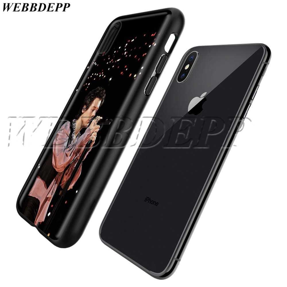 WEBBEDEPP ネックレスハリースタイルを一方向 TPU ソフトケース iphone 11 プロ XS 最大 XR × 8 7 6 6s 5 5s プラス
