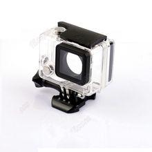 Nuevos accesorios xiaomi yi caso caja externa ampliada de buceo impermeable carcasa de la caja para la cámara sprot yi xiao millas
