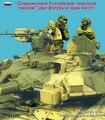 Kit sin pintar 1/35 Moderno Ruso tank crew. dos figuras y un busto figura Histórica WWII Figura de Resina Kit Envío Gratis