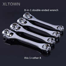 Xltown the new 8-in-1 two-way ratchet wrench multi-function socket ratchet wrench High quality repair tools Efficient tools - DISCOUNT ITEM  50% OFF Tools