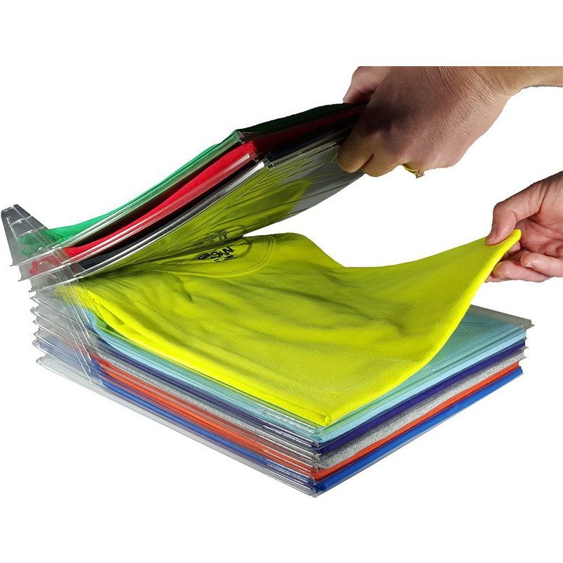 NEW 1pcs Closet Organizer and Shirt Folder  Regular Size Organization Office Desk File C ...