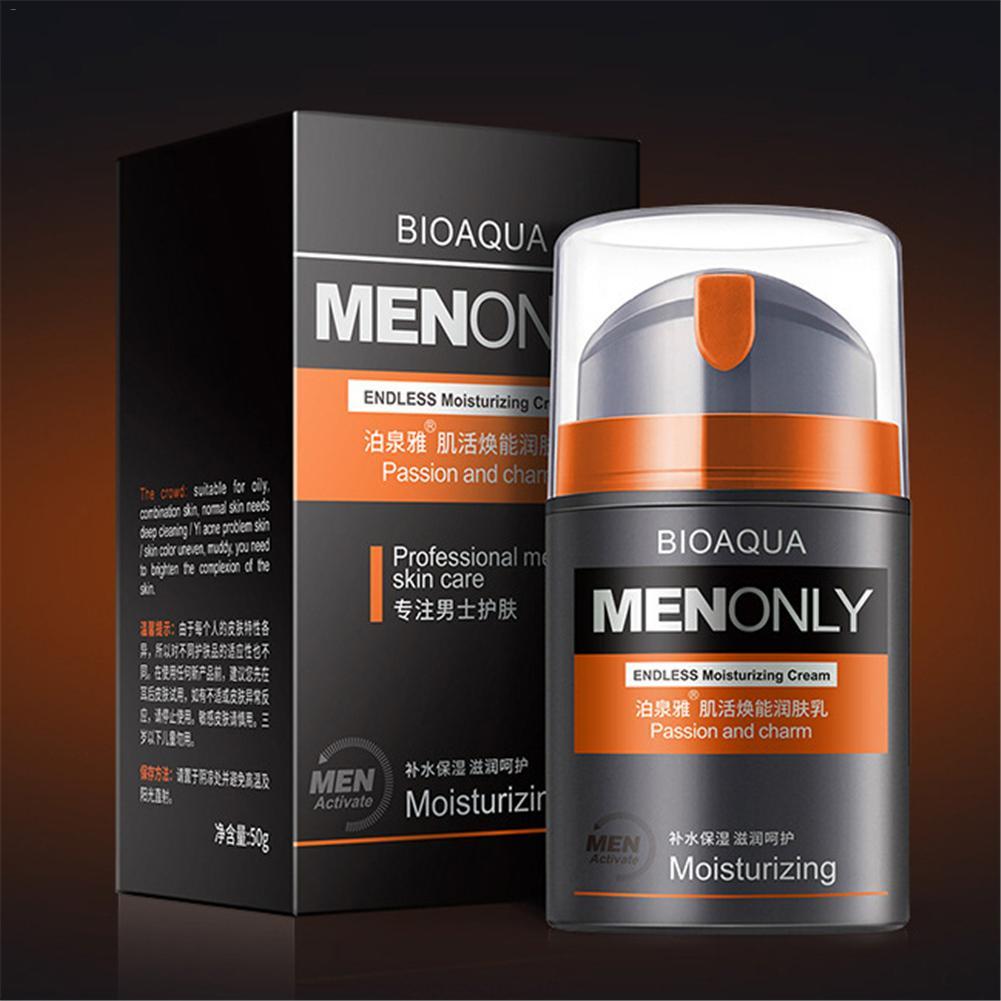 50g Homens Enfrentam Creme Oil controle Hidratante