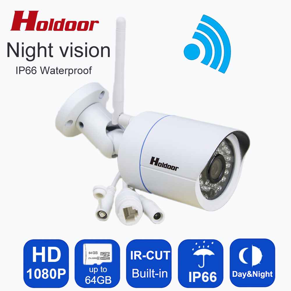 HD 1080P Wifi IP Camera Outdoor Waterproof Wireless Onvif P2P CCTV Bullet Night Vision CCTV Surveillance Network Metal  Camera камера наблюдения wifi ip camera hd 1080p wifi ip p2p