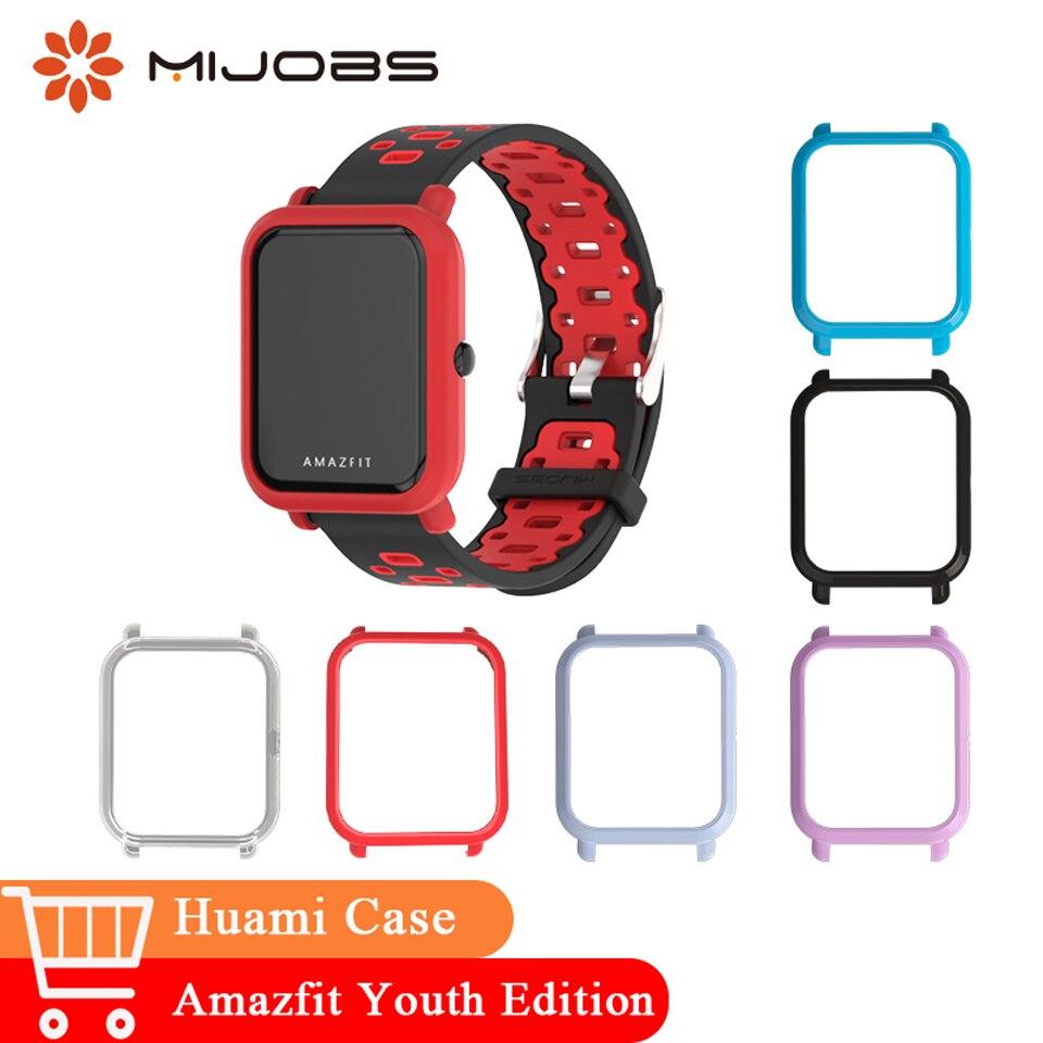 Hingebungsvoll Mijobs Fall Schlank Kunststoff Rahmen Pc Schutz Abdeckung Für Xiaomi Huami Amazfit Bip Bit Jugend Zubehör Smart Uhr Strap-armband Intelligente Elektronik