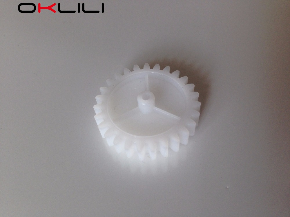 10PCX RU5-0307-000 RU5-0307 RU5-0307-000CN Drive gear 27T for HP 1160 1320 3390 3392 M2727 P2014 P2015 P2030 P2035 P2050 P2055 unique by step