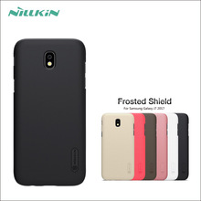 For Samsung Galaxy J7 2017 Eurasia Edition Case NILLKIN Super Frosted Shield Case For Samsung J7 2017 Case Back Cover Case simple protective frosted abs back case for samsung g3815 white