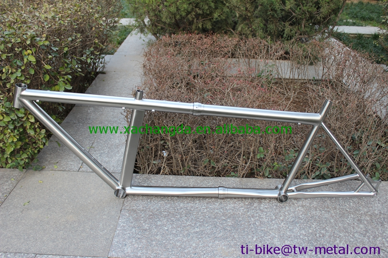 Bike-Frame Tandem Specal Titanium in with Post-Mouth Couple's Cheap