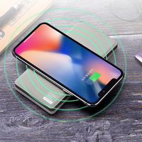 Remax Proda Qi Wireless Power Bank 10000 mah Double USB 10000mAh Fast Charge External Battery For iphoneX samsung S9 xiaomi Bank