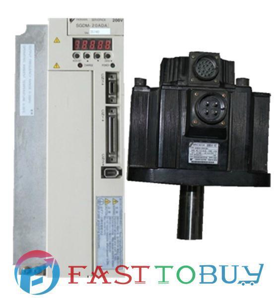200V 2KW  Servo system SGDM-20ADA+SGMGH-20ACA61 New dhl ems 1pc sgdm 30ada v original for yaskawa servo drive