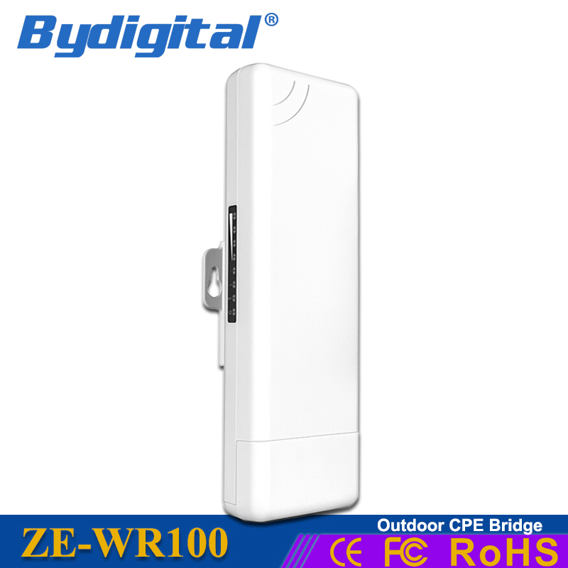 150mbps Cpe 2 4ghz Wifi Bridge Long Range Wifi Repeater Outdoor Router 2km Wireless Access Point