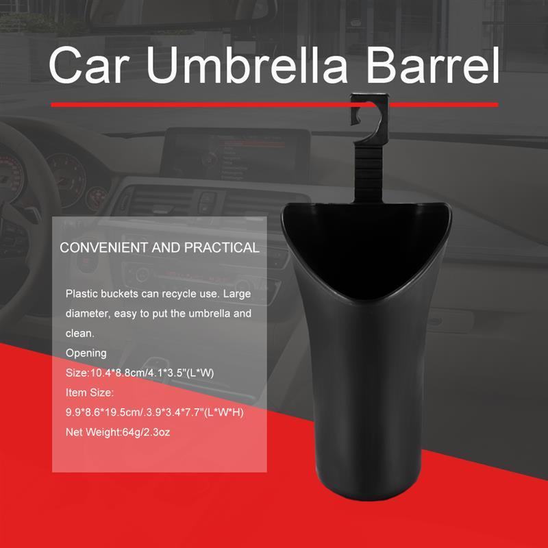 Car Umbrella Storage Bucket