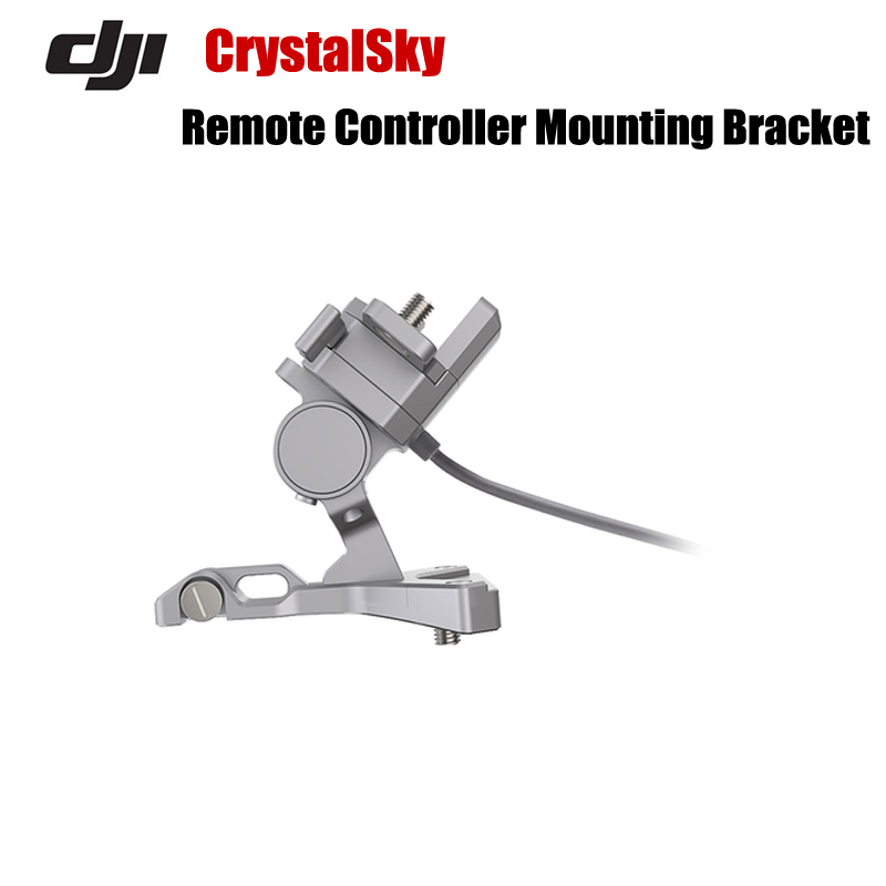 Original DJI Accessories DJI CrystalSky Remote Controller Mounting Bracket for Inspire 1/2 ,Phantom 4/Pro/Phantom 3 Advanced pgy dji phantom 3 4 inspire 1 remote controller anti slip resistance silicone protective skin cover sleeve case