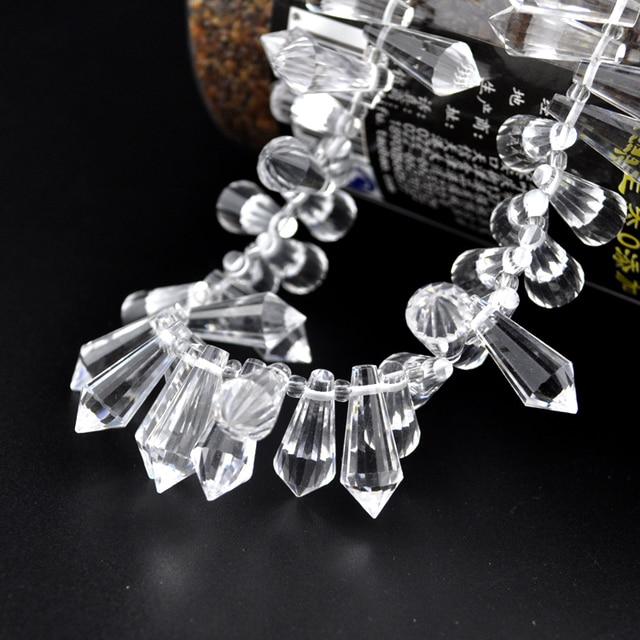 10pcslot crystal tear drop beads pendant 20x8mm colorful faceted 10pcslot crystal tear drop beads pendant 20x8mm colorful faceted diy bead curtains chandelier light aloadofball Image collections